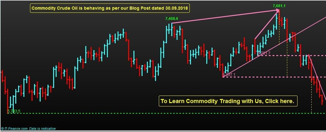 Commodity Crude Oil Trading